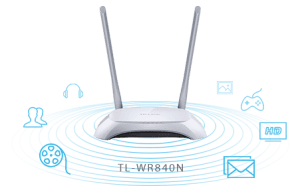 TPLink TL-WR840N 300Mbps Wireless N Router