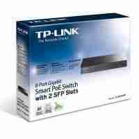 TP LINK TL-SG2210P 8-Port Gigabit Smart PoE Switch with 2 SFP Slots