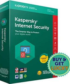 Kaspersky Internet Security 2018 1 year License for 3 Devices