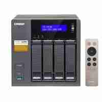 QNAP TS-453A 4-Bay Professional-Grade Network Attached Storage, Supports 4K Playback (TS-453A-4G)