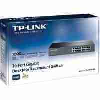 TP-Link TL-SG1016D 16-Port Gigabit Desktop/Rackmount Switch