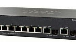 Cisco SG300-10P 10-Port Gigabit PoE Managed Switch