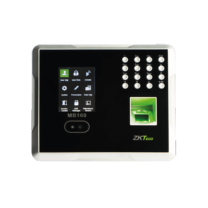 ZKteco MB 160 Multi-Biometric Time Attendance Terminal with Access Control