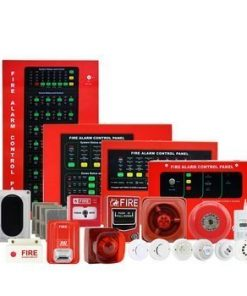 Asenware 2 Zone Conventiona Fire Alarm Control Panel (AW-CFP2166-02)