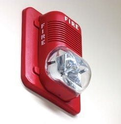 Fire bell with strobe light for Alarm Sound System