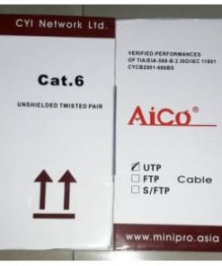 Cable-UTP Aico CAT 6 of 305Metres Roll