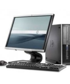 HP 8000 Elite 2.8GHz, 4GB, 250GB, Small Form Factor Computer, plus 17 Inch TFT  (Ex UK)