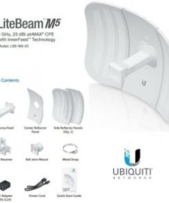 LBE-M5-23 - Ubiquiti LiteBeam M5 23dBi 5GHz Wireless Broadband
