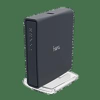 MikroTik hAP ac lite TC | Dual-Concurrent 2.4/5GHz AP, 802.11ac, Tower Case WiFi Router