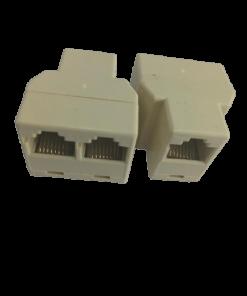RJ45 Double Connectors