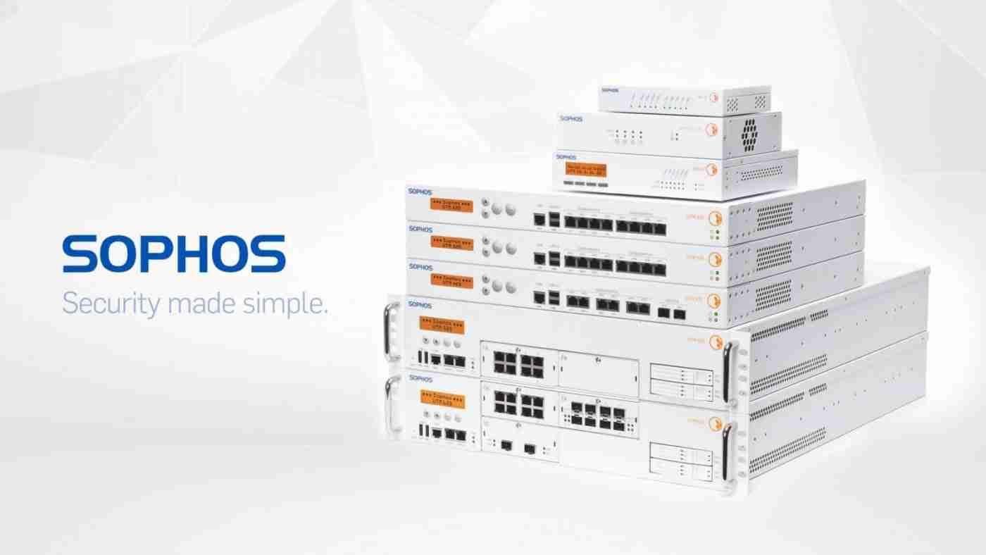 SOPHOS   Network Security Appliances